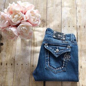 Miss Me Boot Cut Jeans JE5014B40X Size 30
